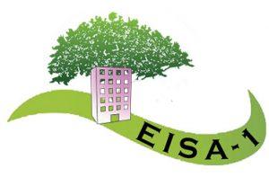 logo en couleur immeuble et arbre du CS-EISA1
