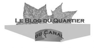 logo pour le CQ du canal représentant le pont des anglais en N&B