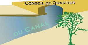 logo pour le CQ du canal représentant le canal en couleur