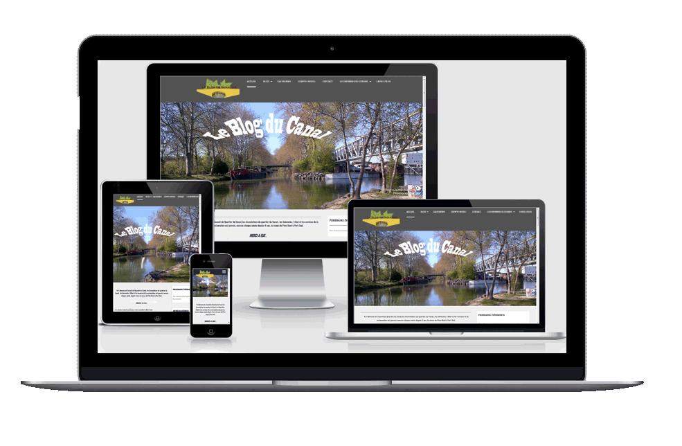 image responsive Site: Blog du Canal