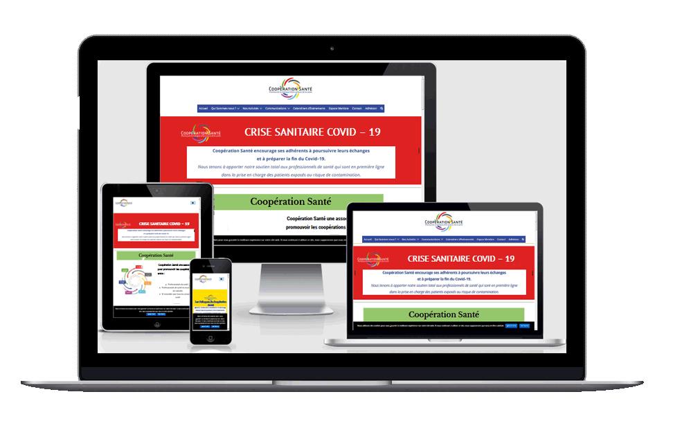 image responsive Site: Coopération Santé