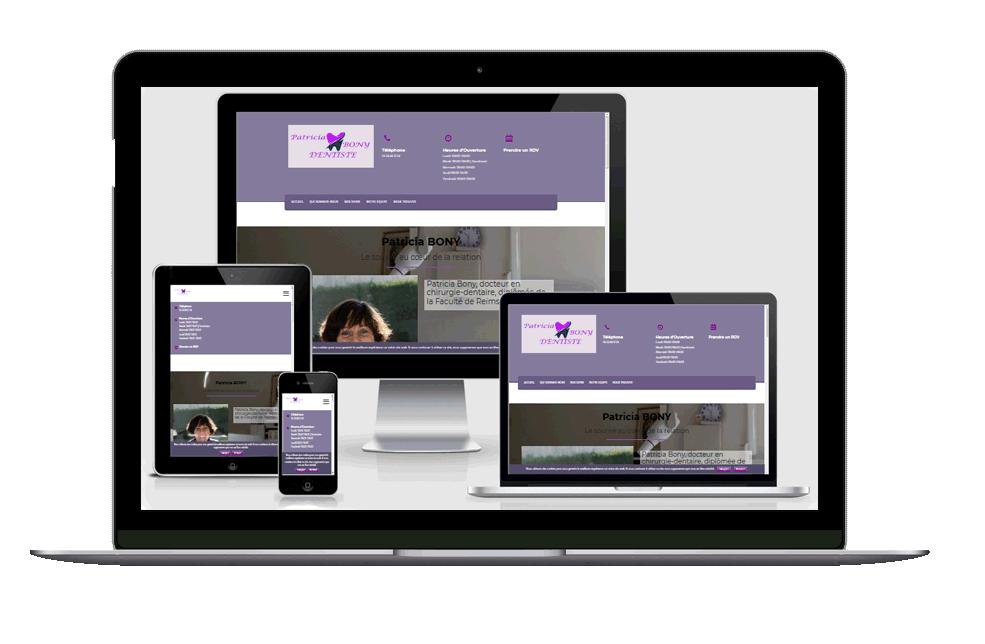 image responsive Site: Dr Patricia Bony - Roquettes